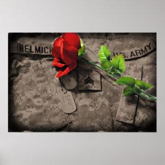 army love print