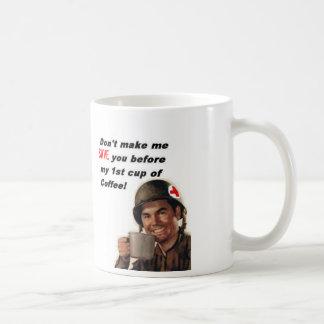 army man coffee-medic, save you coffee mug