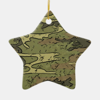 army military camouflage pattern gifts christmas ornament