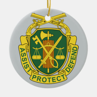 Army Military Police Corps Christmas Ornament