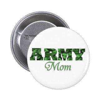 Army Mom Button