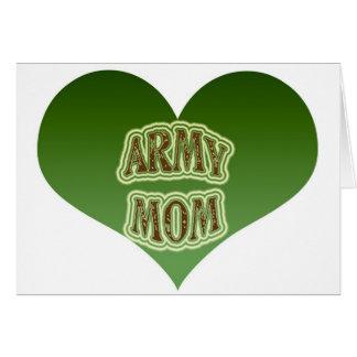Army Mom Greeting Card