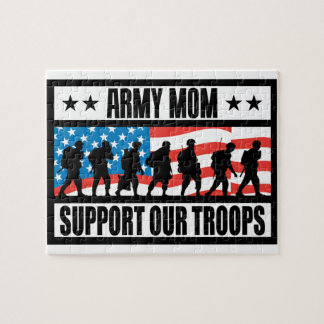 ARMY MOM JIGSAW PUZZLE