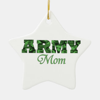 Army Mom Ornament