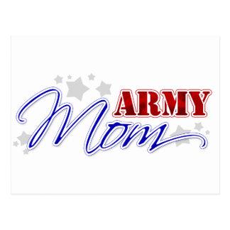 Army Mom Patriotic Postcard