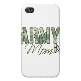 army mom with dog tags copy iPhone 4/4S cover