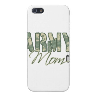 army mom with dog tags copy iPhone 5 case