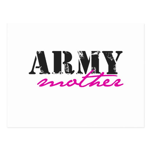army mother post card