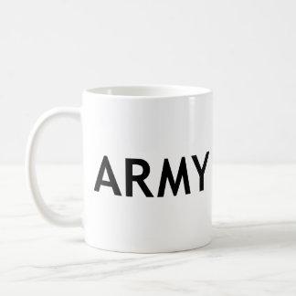 ARMY CLASSIC WHITE COFFEE MUG
