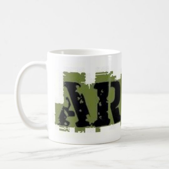 ARMY MUG GREEN AND BLACK