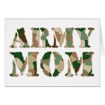 Army Mum camo Card