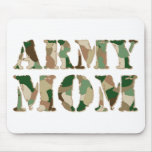 Army Mum camo Mouse Pads
