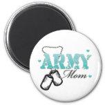 Army Mum Fridge Magnet