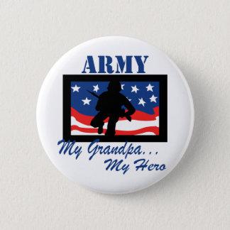 Army My Grandpa My Hero 6 Cm Round Badge