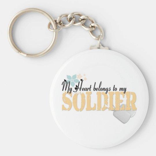 army my heart1 key ring