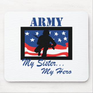 Army My Sister My Hero Mouse Pads