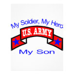 Army My Soldier Hero Son Flyer