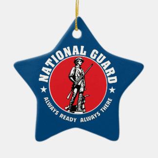 Army National Guard Historic Logo Ceramic Star Decoration