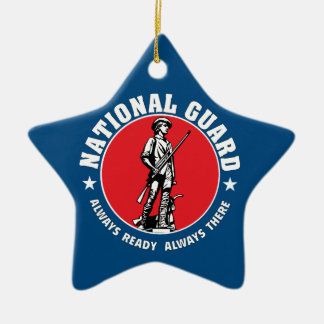 Army National Guard Historic Logo Christmas Ornament