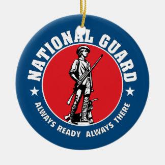 Army National Guard Historic Logo Round Ceramic Decoration