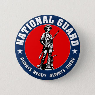 Army National Guard Military Logo 6 Cm Round Badge