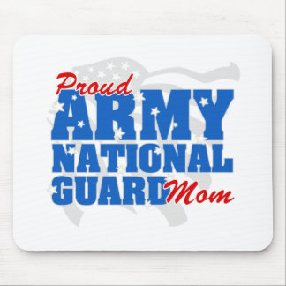 Army National Guard Mom Mouse Pad
