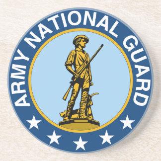 Army National Guard Slogan Always Ready Coaster