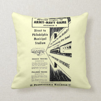 Army-Navy Game Via The Pennsylvania Railroad Cushion