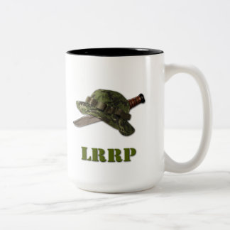 army navy marines air force lrrp lrrps snipers Two-Tone mug