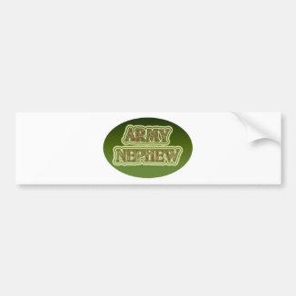 Army Nephew Bumper Stickers