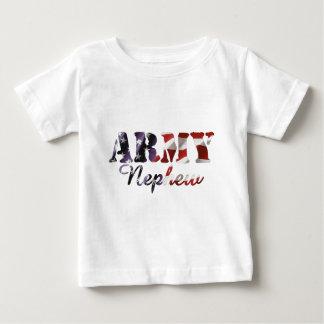 Army Nephew Flag Baby T-Shirt