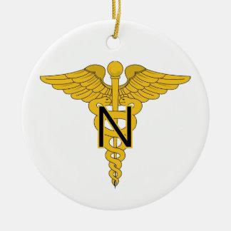 Army Nurse Corps Christmas Ornament