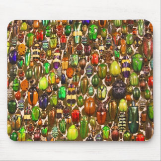 Army of Beetles and Bugs Mouse Mat