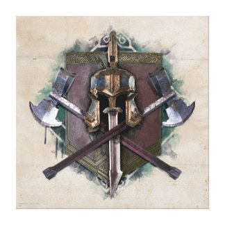 Army Of Dwarves Weaponry Canvas Print