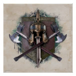 Army Of Dwarves Weaponry Poster