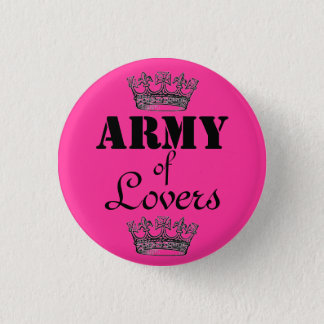 Army of Lovers 3 Cm Round Badge