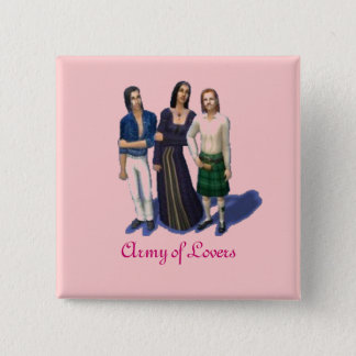 Army of Lovers--the simlish version 15 Cm Square Badge