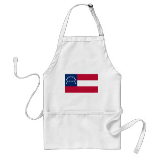 Army of Northern Virginia Flag Standard Apron