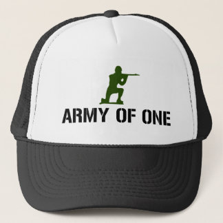 Army of One Trucker Hat