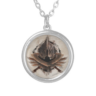 Army Of Orcs Weaponry Silver Plated Necklace