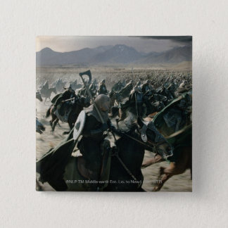 Army of Rohan 15 Cm Square Badge