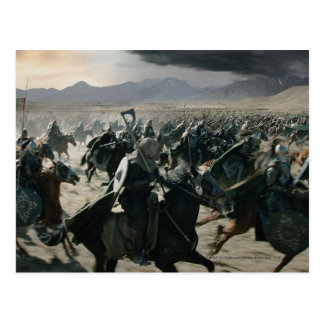 Army of Rohan Postcard