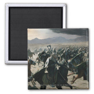 Army of Rohan Square Magnet