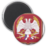 Army of Serbia & Montenegro patch Refrigerator Magnets