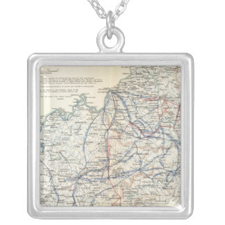 Army of the Cumberland Silver Plated Necklace