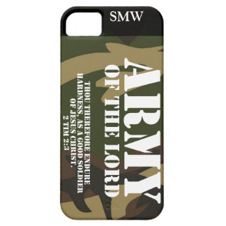 Army of the Lord iPhone 5 Case