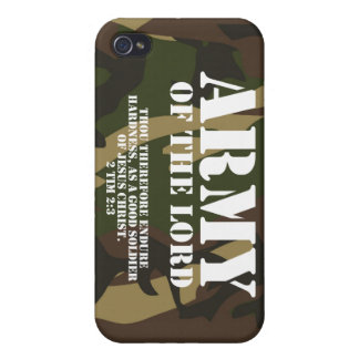Army of the Lord iPhone 4 Cases