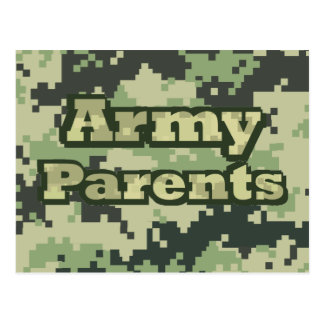 Army Parents Postcard