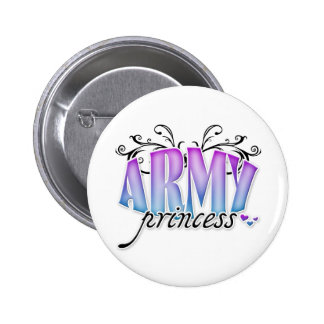 Army Princess Buttons