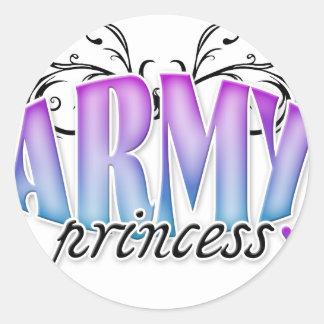Army Princess Stickers